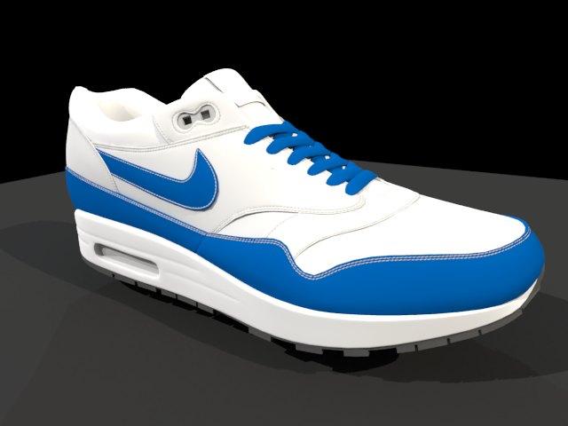 Nike Air Max - Low Poly