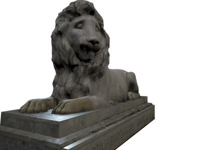 Lion 3D Models for Free - Download Free 3D · Clara io