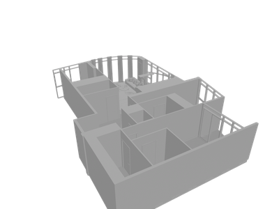 Interior 3D Models for Free - Download Free 3D · Clara io