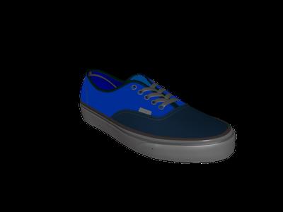 modele chaussure 3 d download vans