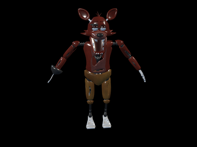 Foxy 3D Models for Free - Download Free 3D · Clara io