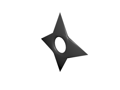 Shuriken 3d Models For Free Download Free 3d Clara Io