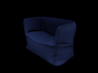 Terrific Beanbag 3D Models For Free Download Free 3D Clara Io Inzonedesignstudio Interior Chair Design Inzonedesignstudiocom