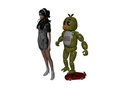 Chica 3D Models for Free - Download Free 3D · Clara io