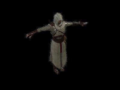 Assassin's Creed - Altair · free 3d model · Clara io