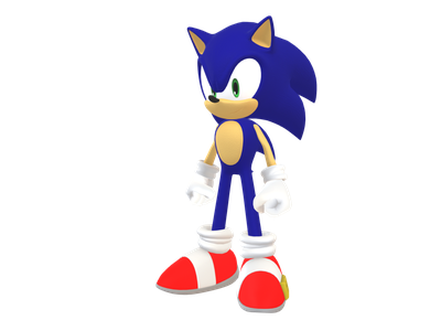 Sonic 3d Models For Free Download Free 3d Clara Io