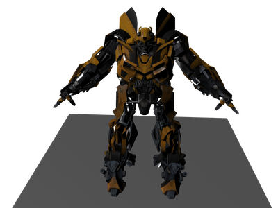 Bumblebee 3d Models For Free Download Free 3d Clara Io