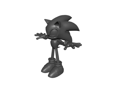 Sonic 3D Models for Free - Download Free 3D · Clara io