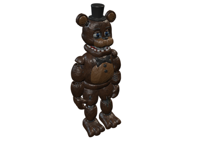 Freddy 3D Models for Free - Download Free 3D · Clara io